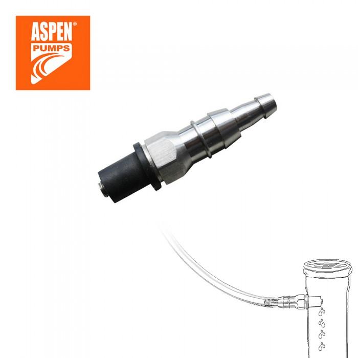 """Сливной фитинг для врезки в канализацию ASPEN Pumps 6mm (1/4""""), 10mm (3/8"""")"""