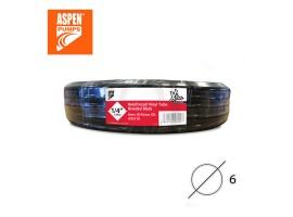 Чёрный дренажный шланг армированный ASPEN Pumps 1/4″ 6 мм AX5110<br>