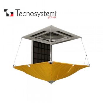 Защитный экран для очистки кассетных кондиционеров Tecnosystemi