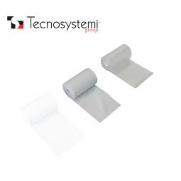 Лента серая ПВХ без клея 50м X 10см Tecnosystemi