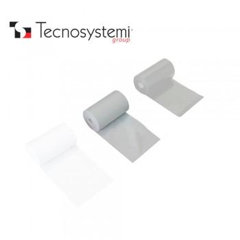 Лента серая ПВХ без клея 25м X 10см Tecnosystemi