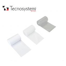 Лента белая ПВХ без клея 50м X 10см Tecnosystemi