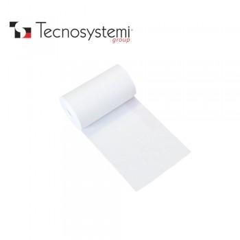 Лента белая ПВХ без клея 25м X 10см Tecnosystemi