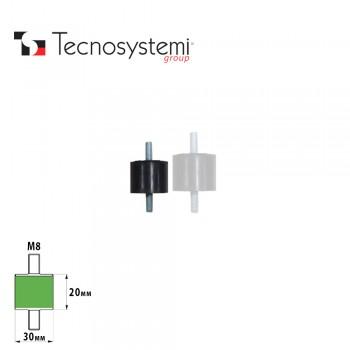 Антивибрационные крепления для кронштейнов S30 Tecnosystemi