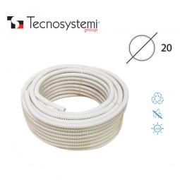 Дренажный шланг для короба или штрабы D20 (1м) Tecnosystemi