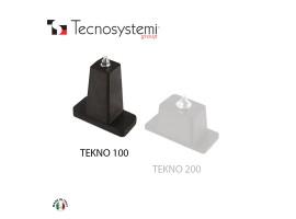Напольный виброизолятор Tekno 100 Tecnosystemi<br>