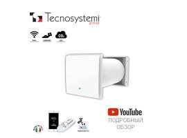 Настенный приточно-вытяжной рекуператор Comfort+Co2 Pico Hp2 30 Wi-C-Co2 Tecnosystemi<br>