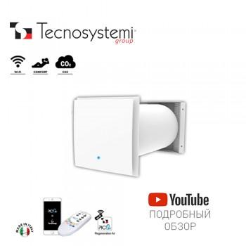 Настенный приточно-вытяжной рекуператор Comfort+Co2 Pico Hp2 55 Wi-C-Co2 Tecnosystemi