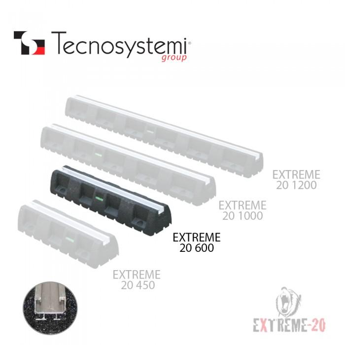 Напольная виброзоиляционная опора из вулканизированной резины Sbr Extreme-20 600 Tecnosystemi