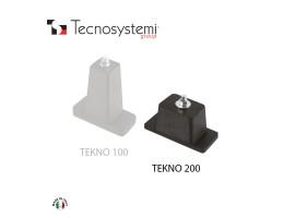 Напольный виброизолятор Tekno 200 Tecnosystemi<br>