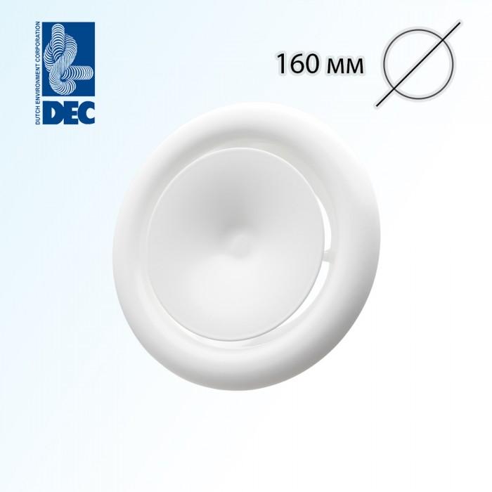 Клапан приточный металлический DEC DVS-P160
