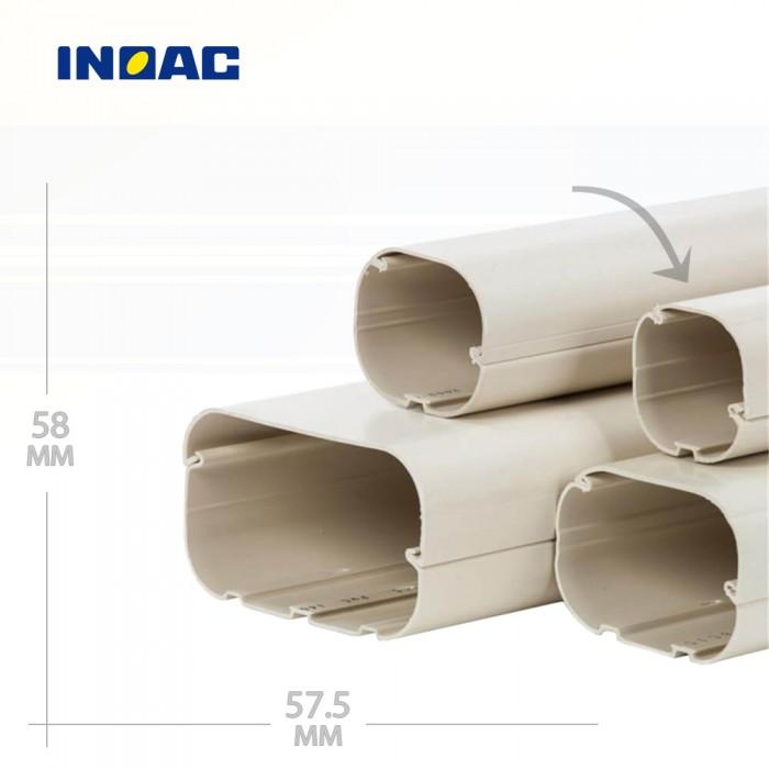 Короб декоративный INOAC CD-60 2 м