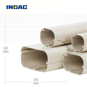 Короб декоративный INOAC CD-100 2 м