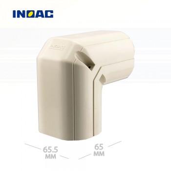 Короб декоративный INOAC NC-60 (угловой 90°, вертикальный)