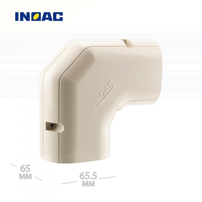 Короб декоративный INOAC NE-60 (угловой 90°, горизонтальный)