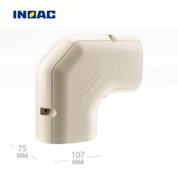 Короб декоративный INOAC NE-100 (угловой 90°, горизонтальный)