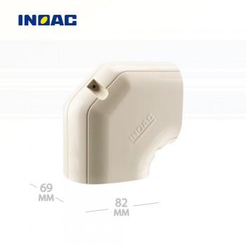 Короб декоративный INOAC NH-75 (угловой 90°, горизонтальный) мини