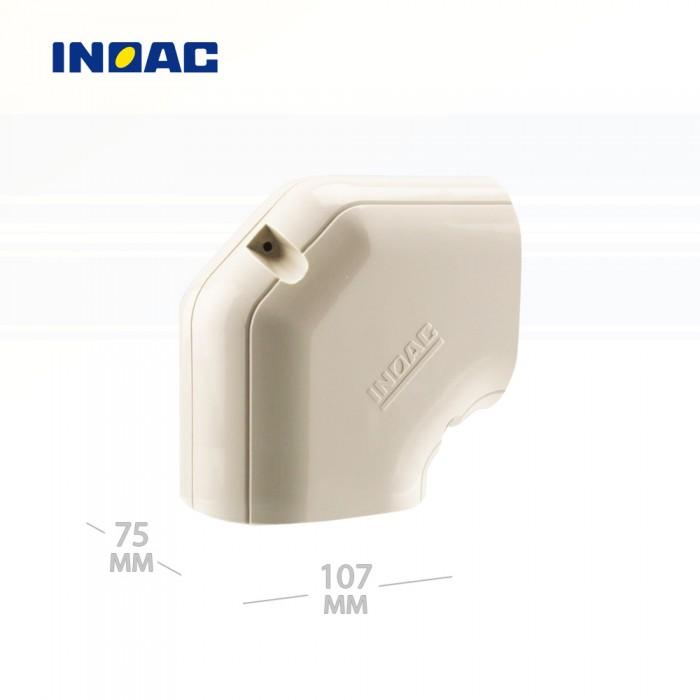 Короб декоративный INOAC NH-100 (угловой 90°, горизонтальный) мини