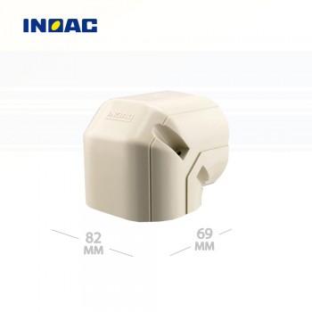 Короб декоративный INOAC NL-75 (угловой 90°, вертикальный) мини