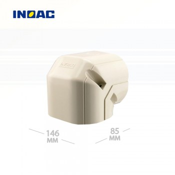 Короб декоративный INOAC NL-140 (угловой 90°, вертикальный) мини