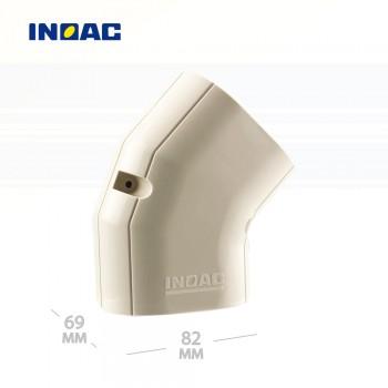 Короб декоративный INOAC NM-75 (угловой 45°, горизонтальный)