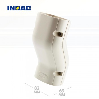 Короб декоративный INOAC NSS-75 (фитинг разницы в уровнях)