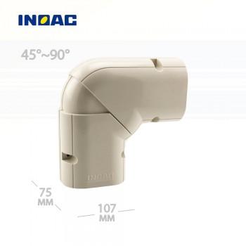 Короб декоративный INOAC NX-100 (угловой 45°~90°, горизонтальный)