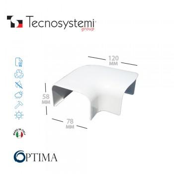 Короб декоративный Optima CP 75 (плоский угол) Tecnosystemi