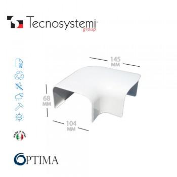 Короб декоративный Optima CP 102 (плоский угол) Tecnosystemi