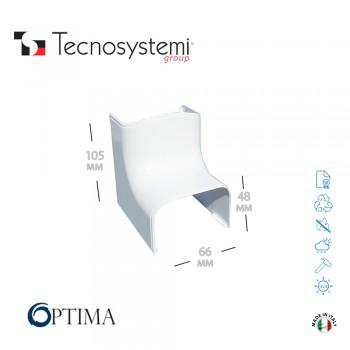 Короб декоративный Optima CAI 62 (внутренний угол) Tecnosystemi