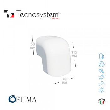 Короб декоративный Optima CAE 75 (внешний угол) Tecnosystemi