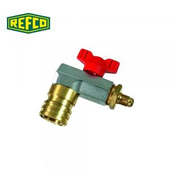 "Сервисный клапан Refco CX-AUTO-R-1/4"" SAE"