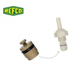 Поршень для вентиля манометра Refco M4-6-04/10