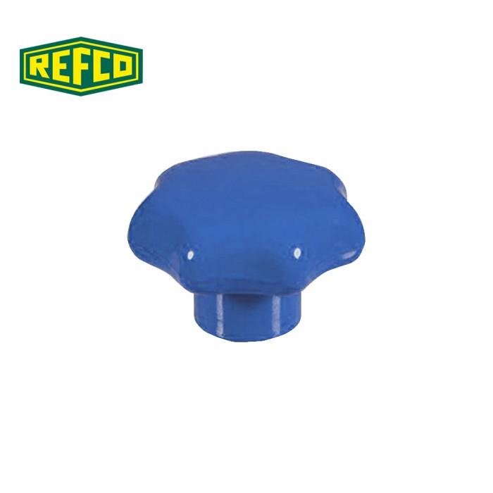 Регулировочная ручка манометра Refco M2-6-09-B (голубая)