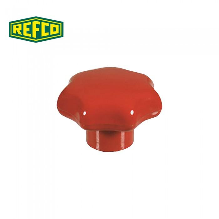 Регулировочная ручка манометра Refco M2-6-09-R (красная)