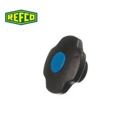 Регулировочная ручка манометра Refco M2-7-SET-B (голубая)
