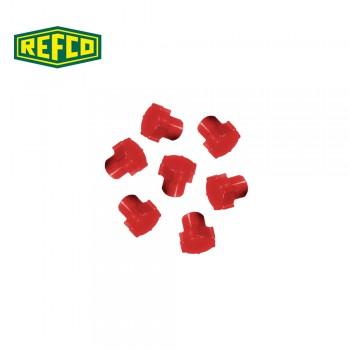 Регулировочная ручка манометра Refco M4-6-09-R (красная)