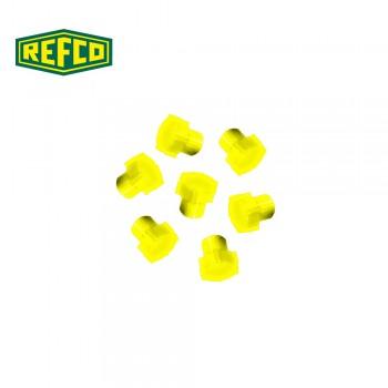 Регулировочная ручка манометра Refco M4-6-09-Y (желтая)