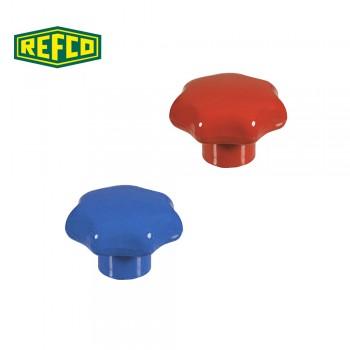 Регулировочные ручки манометра Refco M2-6-09-R+B