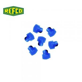 Регулировочная ручка манометра Refco M4-6-09-В (голубая)