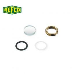 Ремкомплект для смотрового окошка манометра Refco M4-6-11