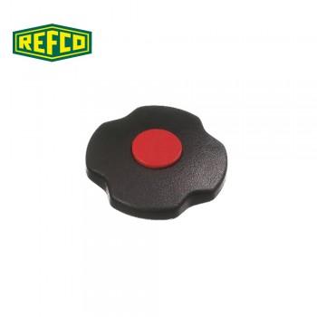 Регулировочная ручка манометра Refco M2-7-SET-R (красная)