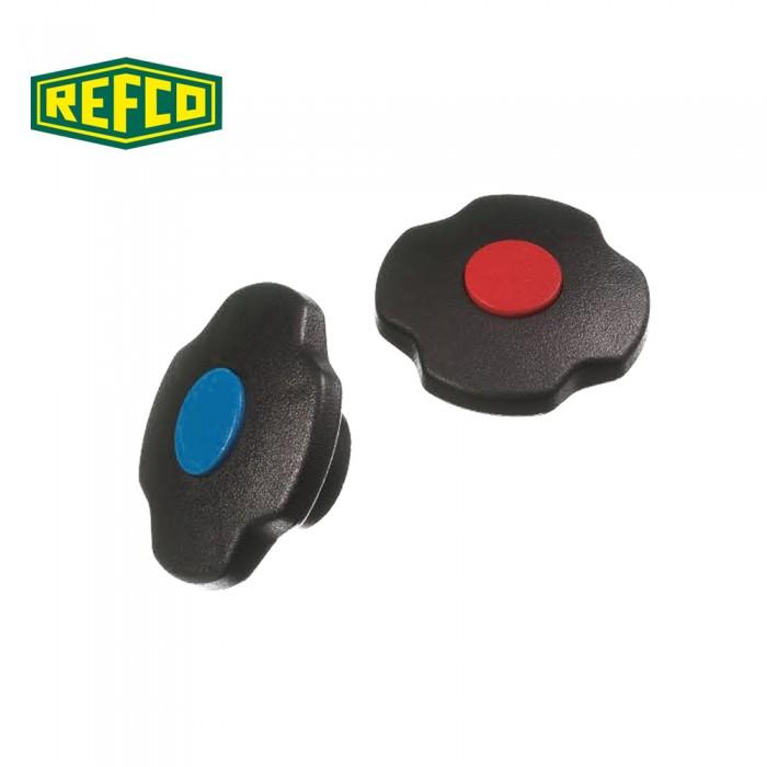 Регулировочные ручки манометра Refco M2-7-SET-B+R