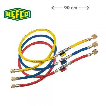 """Шланги заправочные Refco CCL-36-CA-1/2""""-20UNF R410A (90см)"""