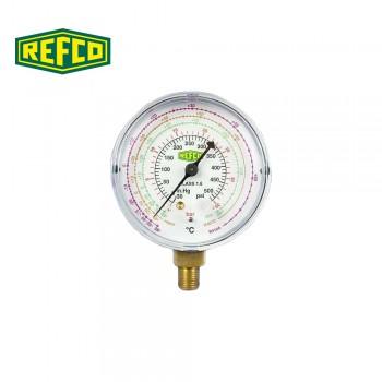 """Манометр высокого давления Refco M2-500-DS-R22 1/8"""" NPT"""