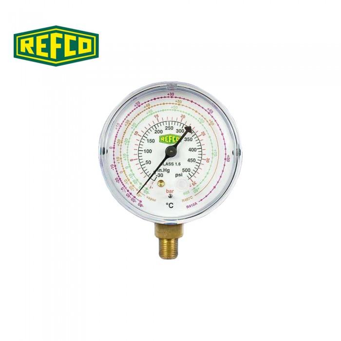 """Манометр низкого давления Refco M2-250-DS-R22 1/8"""" NPT"""