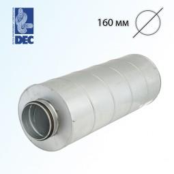 Шумоглушитель 160 мм x 0,6 м DEC GGLX50S