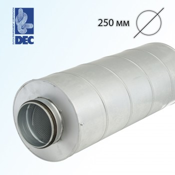 Шумоглушитель 250 мм x 0,6 м DEC GGLX50S