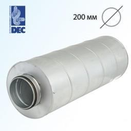 Шумоглушитель 200 мм x 0,6 м DEC GGLX50S