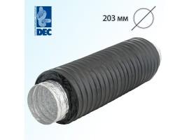 Шумоглушитель черный 203 мм x 0,5 м DEC Sonodec 25 GLX Combi<br>